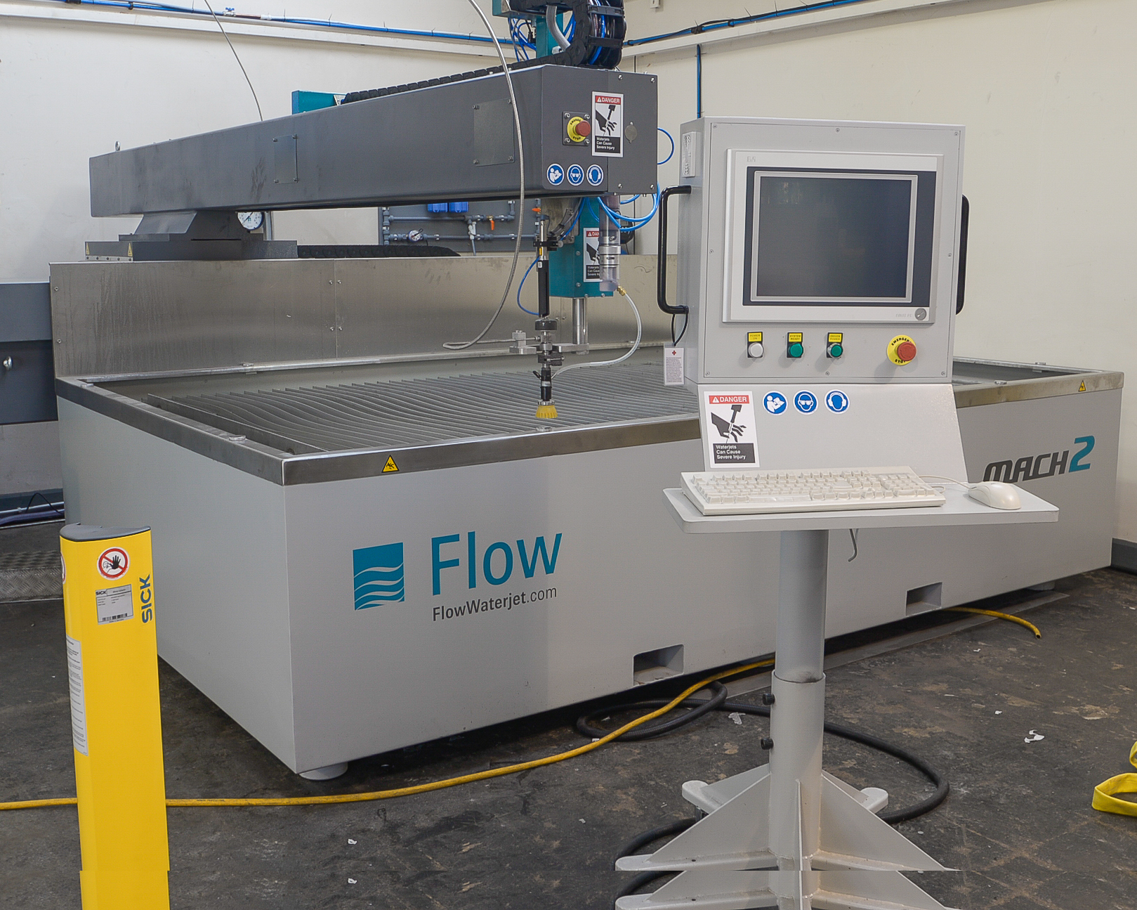 Cut Any Material In Any Industry With Waterjet Cutting
